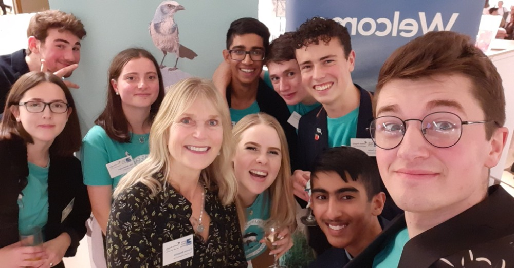 Young Ambassadors with Corinne Cruickshank