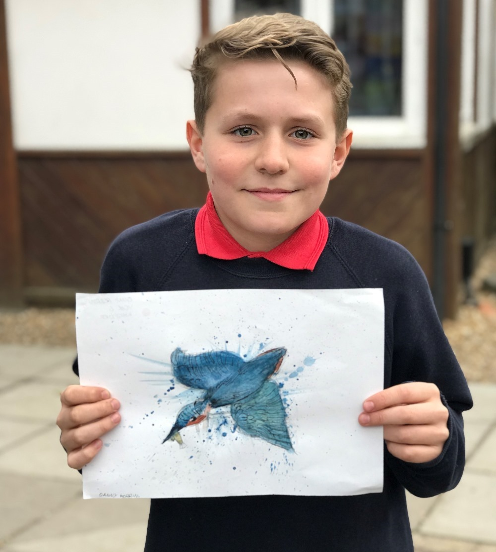 Danny Perrin, St. Bede year 5