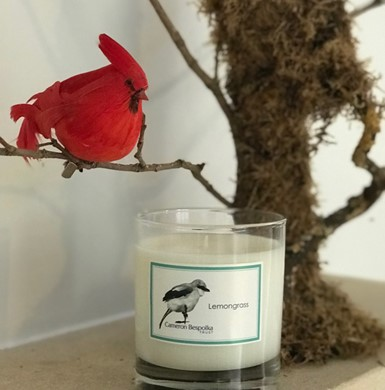 Lemongrass and Verbena Scented Candle