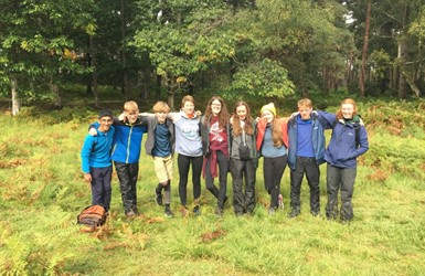 The RSPB Youth Council- photo credit: Emily Lomax